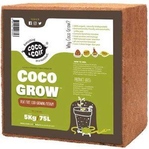 fibra de coco para sustrato, sustrato fibra de coco