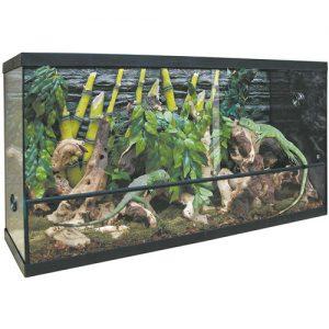 terrario de madera para tortugas